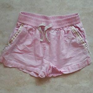 Crewcuts pink girl's shorts